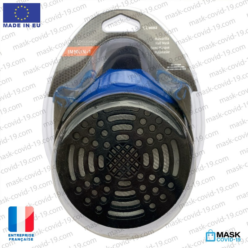 Mask with Covid-19 filter made in europe